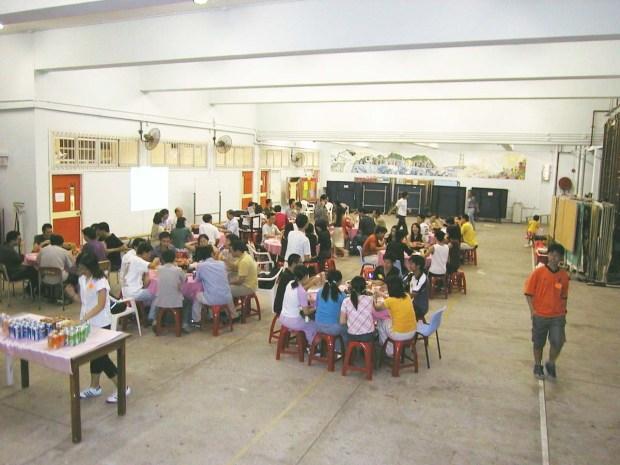 Agm2001-dinner